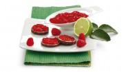 Himbeer-Limetten-Konfitüre mit Gelier Zucker 1plus1