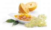 Holunderblüten-Orangen-Gelee mit Gelier Zucker 1plus1