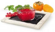 Johannisbeer-Kaki-Brotaufstrich mit Gelier Zucker 2plus1