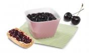 Kirsch-Aroniabeeren-Konfitüre mit Gelier Zucker 1plus1