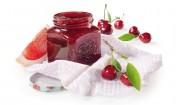 Kirsch-Grapefruit-Konfitüre mit Gelier Zucker 1plus1