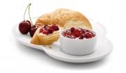 Kirsch-Stachelbeer-Erdbeer-Brotaufstrich mit Gelier Zucker 3plus1