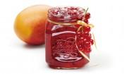 Mango-Johannisbeer-Brotaufstrich mit Gelier Zucker 3plus1