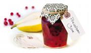 Preiselbeer-Birnen-Brotaufstrich mit Gelier Zucker 2plus1