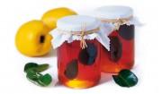 Quittenbrotaufstrich mit Zitronenblättern mit Gelier Zucker 3plus1