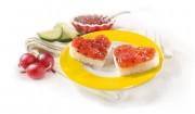 Rote Stachelbeere & Zucchini mit Gelier Zucker 1plus1
