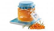 Sanddorn-Apfel-Gelee mit Gelier Zucker 1plus1