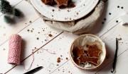 Lebkuchen-Brownie-Sterne