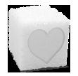 Würfelzucker Valentinstag